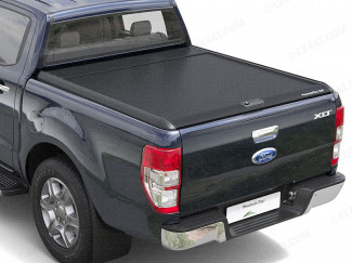 Ford Ranger Mountain Top Roll - Black Roller Shutter