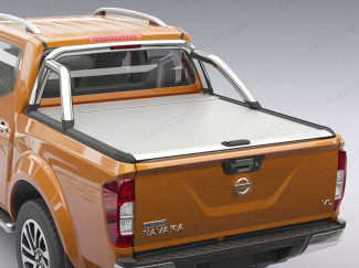 Nissan Navara NP300 fitted with Silver Mountain Top roller shutter