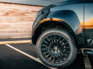 Nissan Navara NP300 Wheel arch extension kit with AdBlue