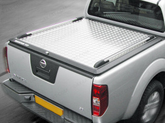 Nissan Navara D40 King Cab Load Bed Cover - Mountain Top - Vehicle Without 'C' Channels