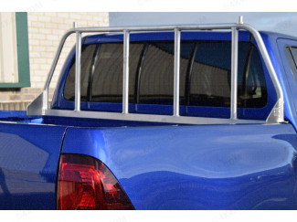 Alloy Ladder Rack Window Guard For The Nissan Navara NP300
