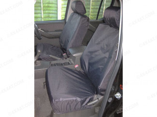 Nissan Navara D40 Tailored Waterpoof Front Seat Covers