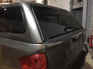 Nissan Navara Aeroklas Rear Door Glass Version 2