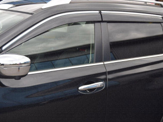 Nissan X-Trail wind deflectors