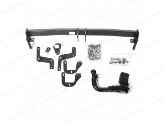 Detachable swan neck style tow bar for Peugeot 2008