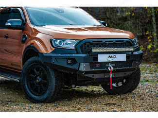 Ford Ranger 2016 Front Bar - Winch Recovery Bumper – Predator