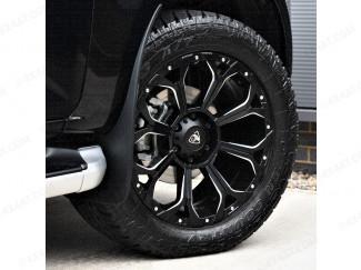 New Isuzu D-Max 2021 Predator Coyote Alloy Wheels Gloss Black