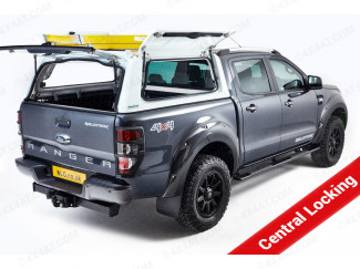 Ford Ranger Pro//Top Low Roof Gullwing in Various Colours - Glass Rear Door with Central Locking