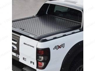 Ford Ranger Wildtrak 2019 on Black Lift-Up Tonneau Cover - Pro//Top