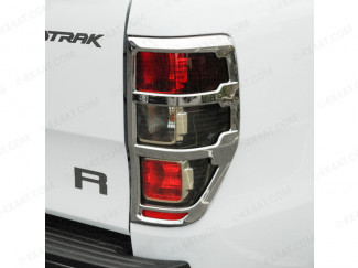 Ford Ranger Mk5 2012 On Chrome Tail Lamp Surrounds