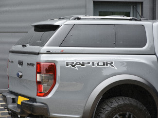 Ford Ranger Raptor Pickup 2019 On Alpha Type-E Hard Top In Conqueror Grey