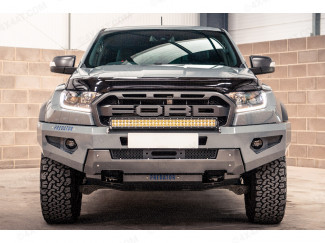 Ford Ranger Raptor Winch Recovery Bumper, Front Bar