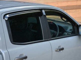 Ford Ranger Raptor wind deflectors