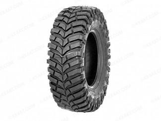 Recip Trial Retreaded mud terrain tyre