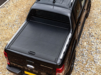 Ford Ranger Wildtrak Red Rock Roll Top - Roller Shutter Tonneau, Black