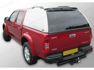 Carryboy Commercial Truck Top Canopy In Primer For Isuzu Rodeo Double Cab