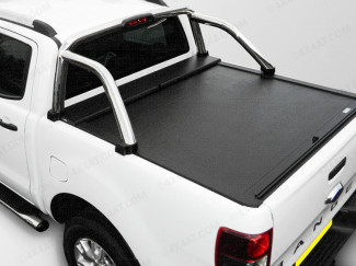 Ford Ranger 2012 On DC Roll Cover - Roll And Lock Lid