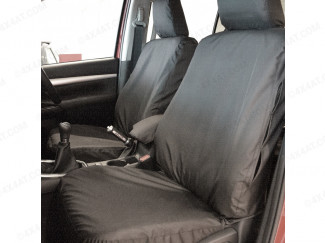 Toyota Hilux 2021 Tailored Waterproof Front Seat Covers