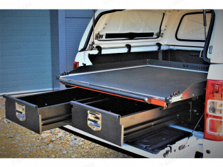 Ford Ranger 2019 On Alloy Sliding Deck With Twin Drawer System