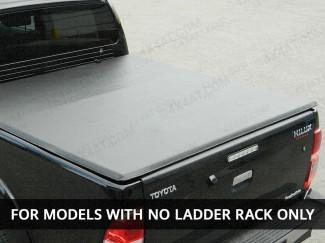 Toyota Hilux 2016 Onwards Double Cab Tri-Folding Soft Tonneau Cover