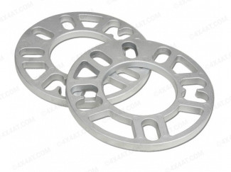 2 x Spacers for Hilux Mk7 Front Wheels required for 16x8 wheels
