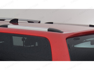 Musso-2018- Carryboy Trucktop Canopy Roof Bars - Silver