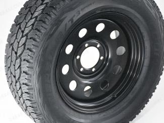 18 Inch Black Modular Steel Wheels - Mitsubishi L200 2005