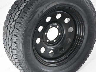 18 Inch Black Modular Steel Wheels - Mitsubishi L200 2019
