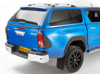 Toyota Hilux double cab with Alpha GSR Leisure Canopy fitted
