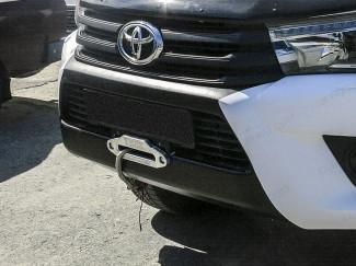 Toyota Hilux hidden recovery winch bumper