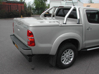 Toyota Hilux 2005-2016 Sportslid 3 Piece Load Bed Cover Unpainted