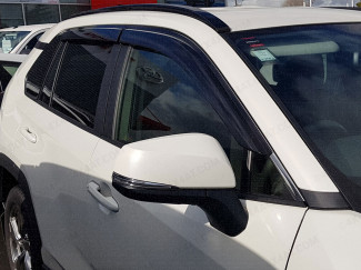 Toyota RAV4 wind deflectors