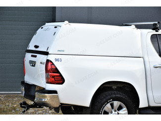 New Toyota Hilux 2016 onwards Pro//Top Canopy Tradesman Blank Sided
