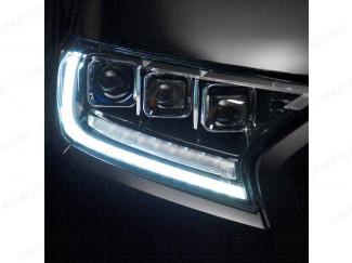 Ford Ranger 2016 On Predator Tri-Projector LED Headlights