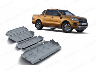 Ford Ranger 2019 On Alloy Underbody Protection Kit