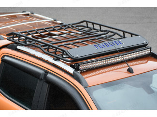 EXPEDITION STYLE ALLOY ROOF RACK – PREDATOR LOGO