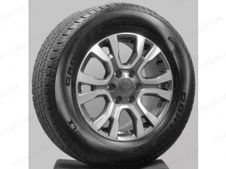 """Ford Ranger New Style Wildtrak 18"""" Alloys With Continental Tyres Set Of Four"""