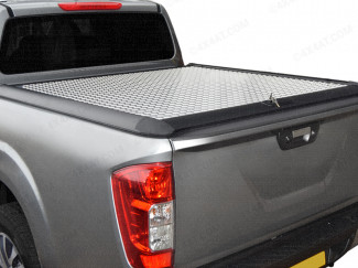 Mercedes-Benz X-Class 2017 on Double Cab Mountain Top Alloy Chequer Plate Tonneau Cover