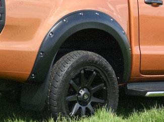 New Ford Ranger 2019 Onwards Coloured Wheel Arches 6-inch Extreme