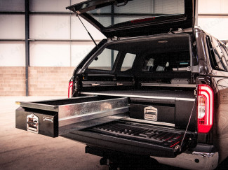 Mercedes X-Class Bespoke Double Cab Load Bed Drawer System