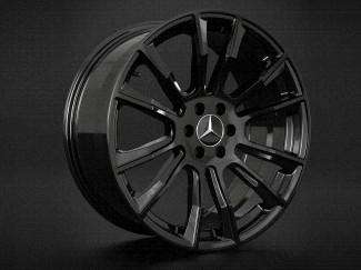 "Black Hawke Denali 20"" Alloy Wheels For Mercedes X Class"