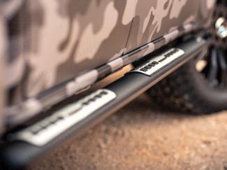 Mercedes-Benz X-Class 2018 Mach Side Steps Black Alloy