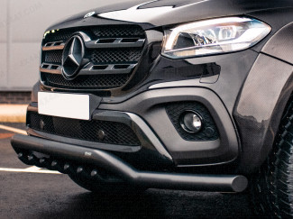 Spoiler Bar With Axle Bars In Black for Mercedes X-Class