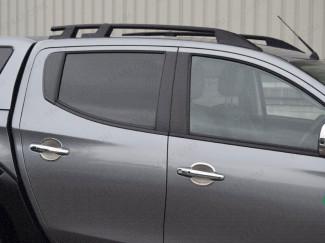Xtreme Roof Rails Black For L200