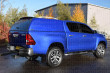 Toyota Hilux 2016 On Double Cab Carryboy Commercial Hard Trucktop With Blank Sides-2
