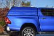 Toyota Hilux 2016 On Double Cab Carryboy Commercial Hard Trucktop With Blank Sides-4