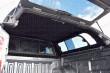 Carryboy Leisure Pickup Trucktop Sliding Windows Rear Door Open Bulkhead - Interior Roof View From Below