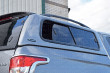 Carryboy Pickup Leisure Trucktop Canopy With Tinted Windows Open And Roof Rails - Rear Corner View