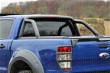 Ford Ranger Mountain Top Roll - Black Roller Shutter