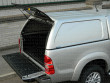 Toyota Hilux Mk6 Double Cab Aeroklas Commercial Hard Top Blank Sides Painted-7